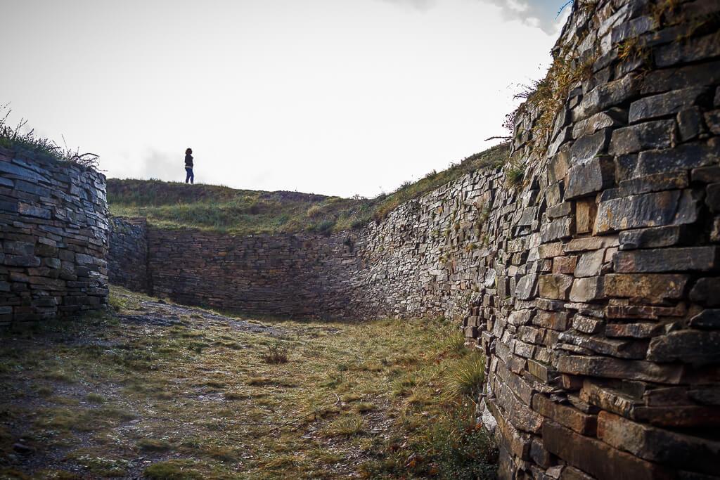 oppidum o castro de arrola en urdaibai