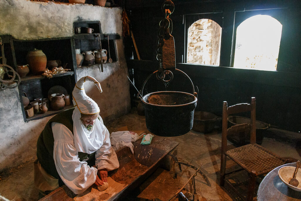 Cocina caserío Igartubeiti - Igartubeiti baserriaren sukaldea
