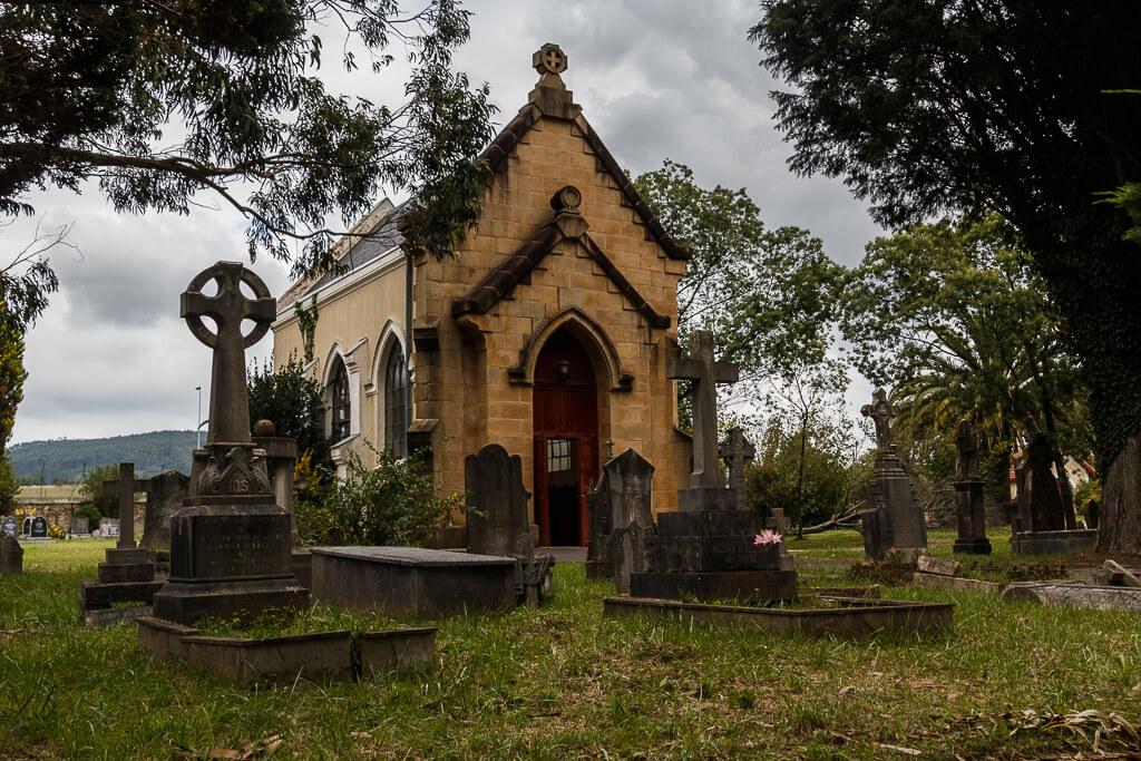 Cementerio británico. Iglesia de la Trinidad, anglicana