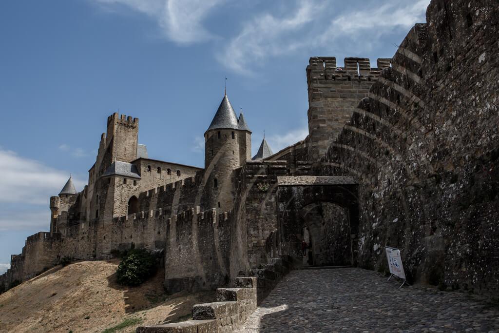 ondare lagunak francia Carcassonne