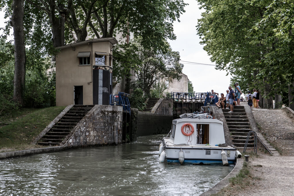 ondare lagunak francia Castelnaudary