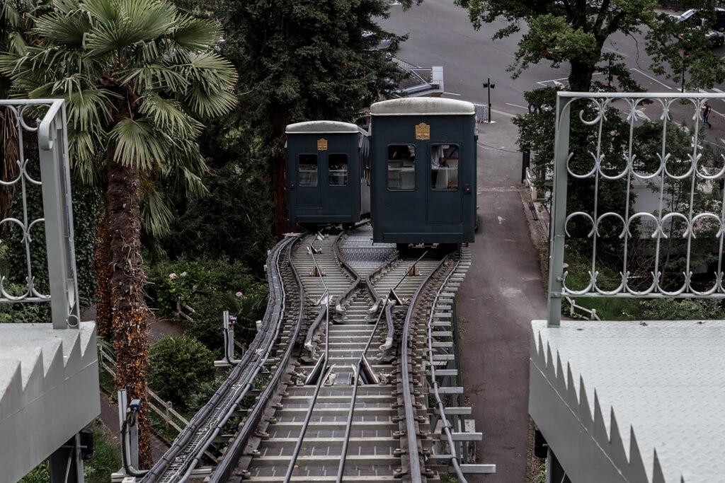 ondare lagunak francia funicular de Pau