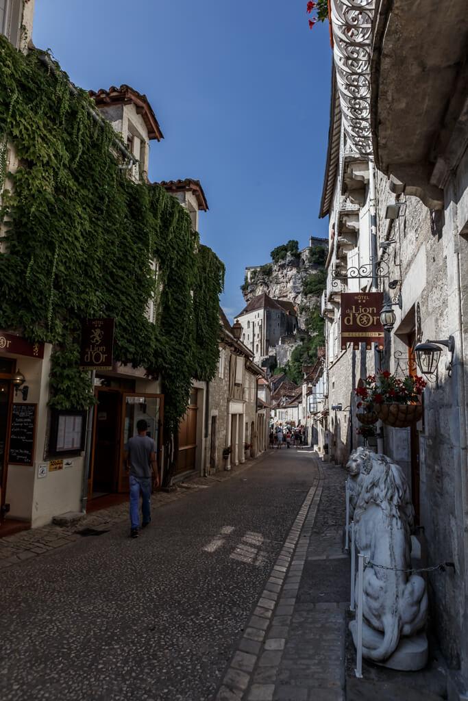 calle principal de Rocamadour