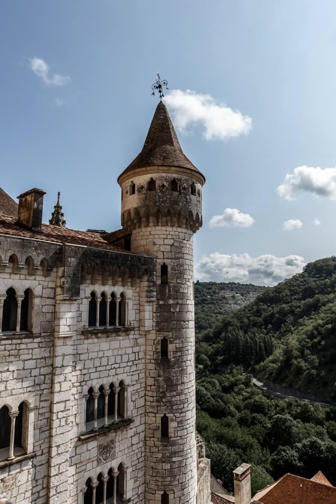 Torre del santuario de Rocamadour