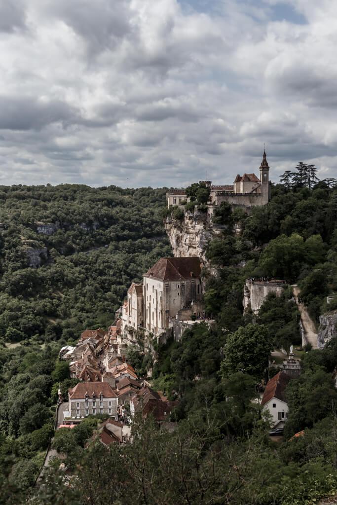 vista general de Rocamadour