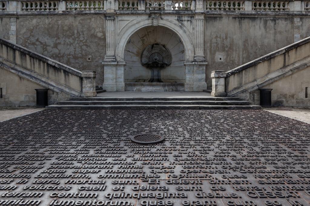 L'observatoire du temps en la escalera monumental
