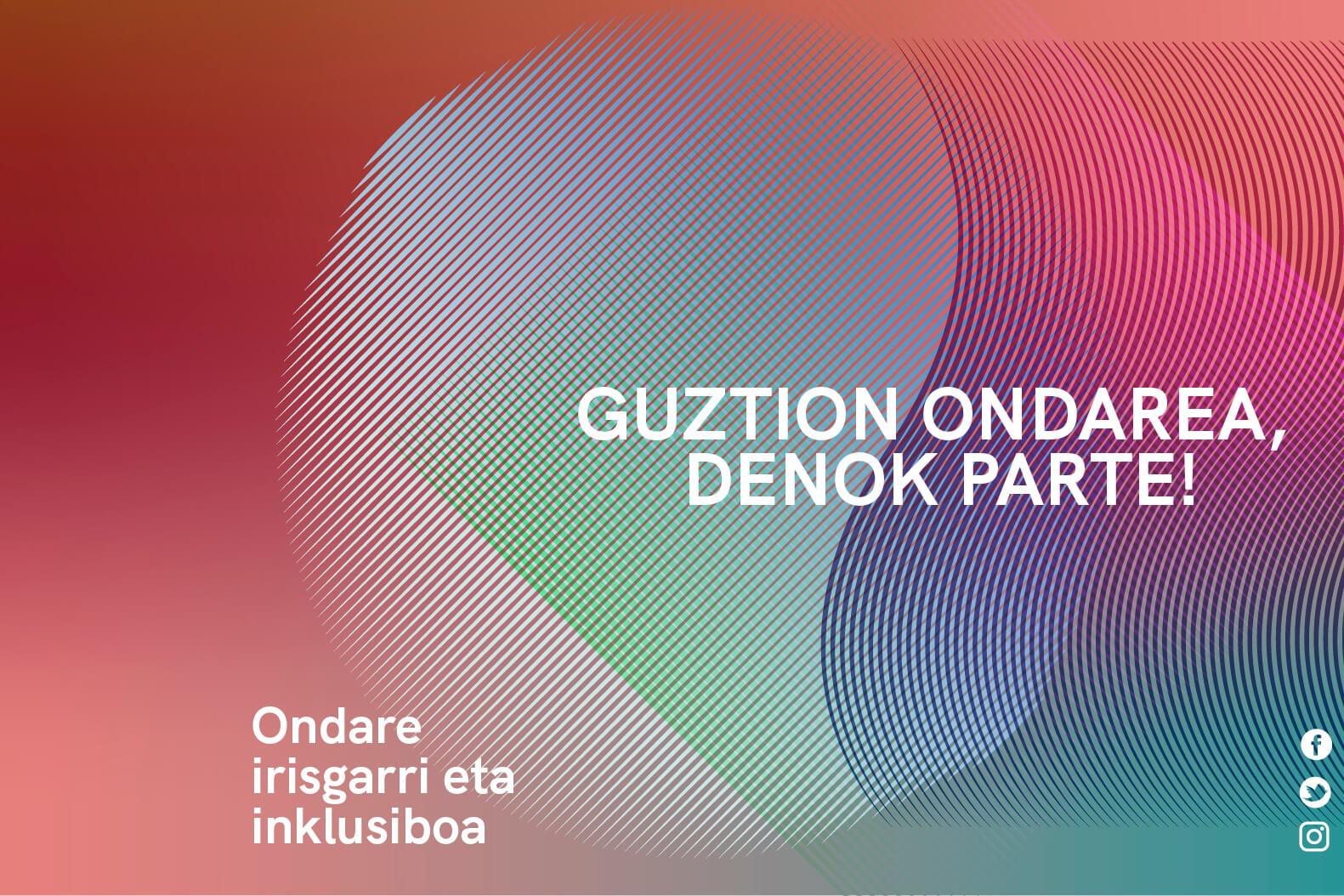 JEP 2021 Guztion Ondarea, Denok Parte!